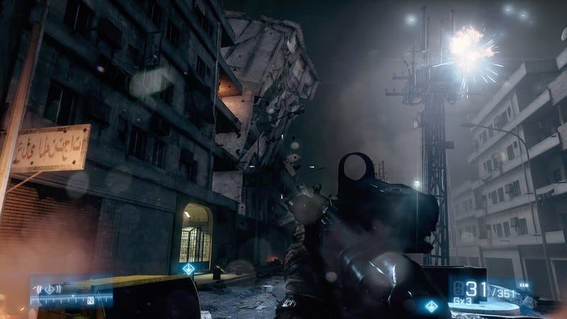New Battlefield 3 Screens Put the Campaign in Perspective