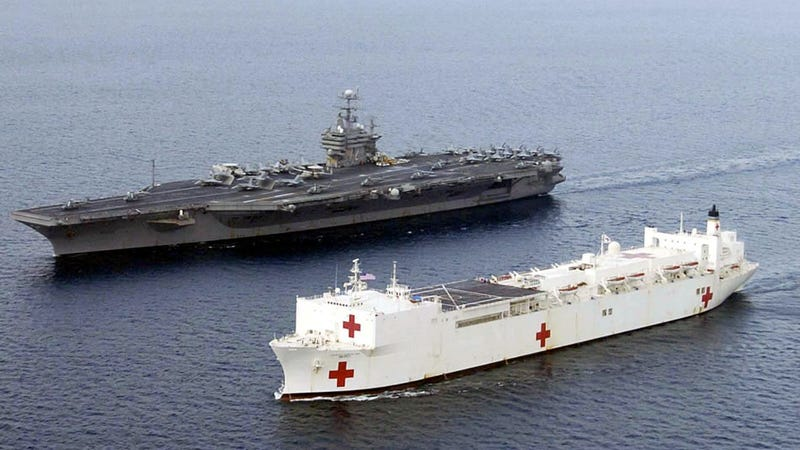 How the US Navy Uses the Largest Hospital Ships In the World to Help Everyone