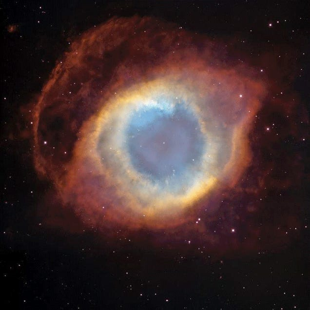 """The Famous """"Eye of God"""" Nebula May Actually Be Weeping Tears Of Water"""