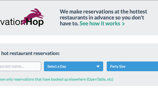 Restaurant Reservation Scalping Site Is Everything Wrong with SF