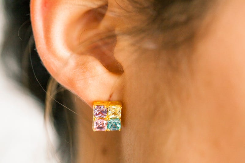 Get Yourself Some Stud Earrings That Are Ready to Party