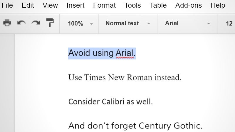 Three Fonts You Should Use Instead of Arial to Save Printer Ink