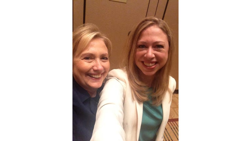 This Hillary Clinton Selfie Is the Best Thing You'll See Today