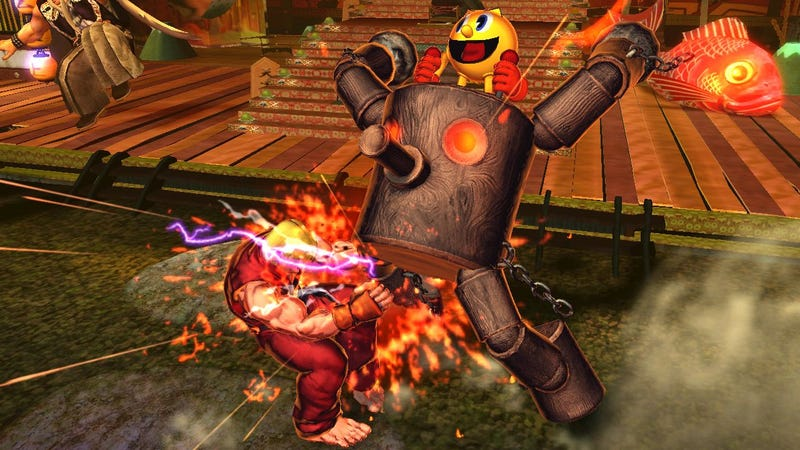 Street Fighter X Tekken's Mecha Pac-Man, Fat Mega Man Free to PS3 on March 13