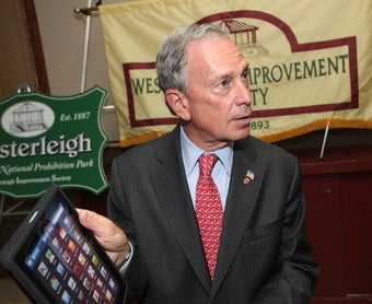An iPad Runs New York City