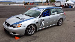 Your Super Awesome Subaru Legacy Wagon Race Car