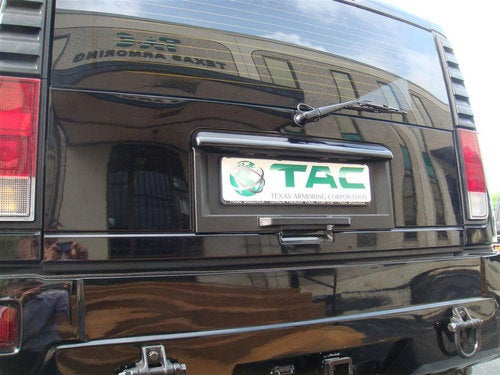 TAC Armored Hummer H2: Exterior Photos