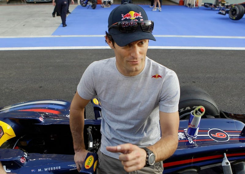 Mark Webber Drove Final F1 Races With Broken Shoulder