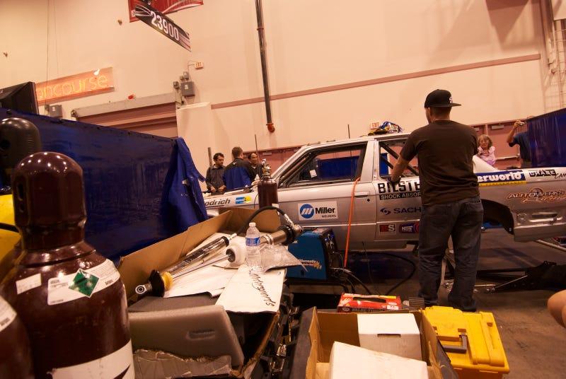 Bill Caswell BMW E30 Rally Car