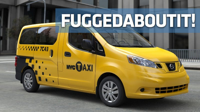 New York's new taxi freakin' sucks