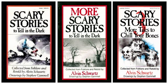Scary books for adults 2012