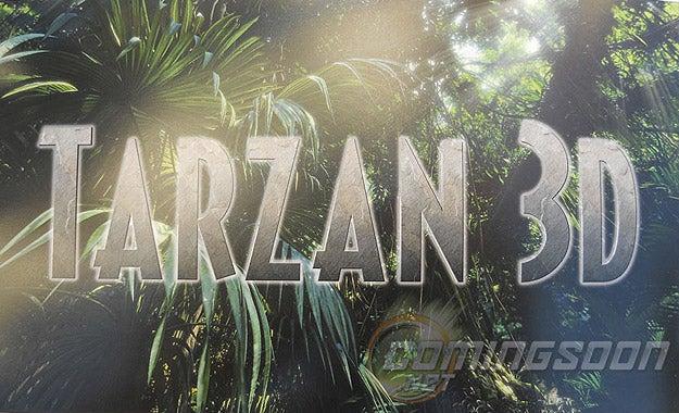 Tarzan 3D Title Picture