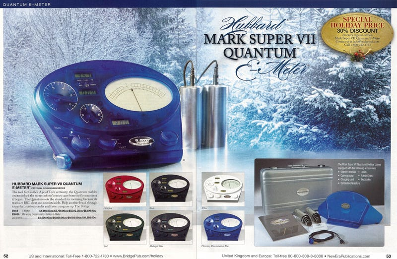 Preclears On Your List? Shop The Scientology Holiday Catalog