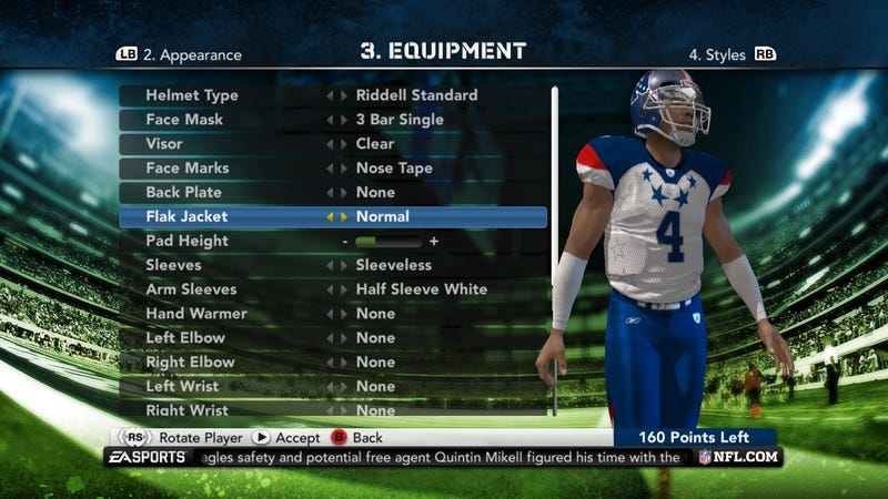 Madden NFL 12 Superstar Mode Gallery