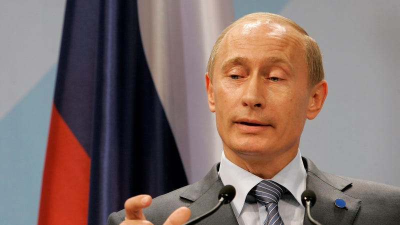 Vladimir Putin Would Like You to Know That He's Totally Into Group Sex