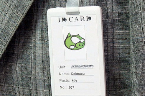 Hidden Nametag Camera Looks Slick, Will Probably Get You Caught