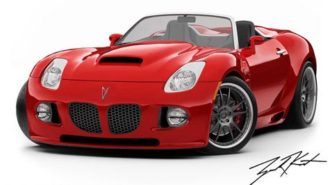 A Cobra for Care Bears: Mallett V8 Pitbull Solstice