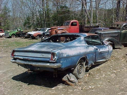 The Junked Cars Of Limerick, Maine