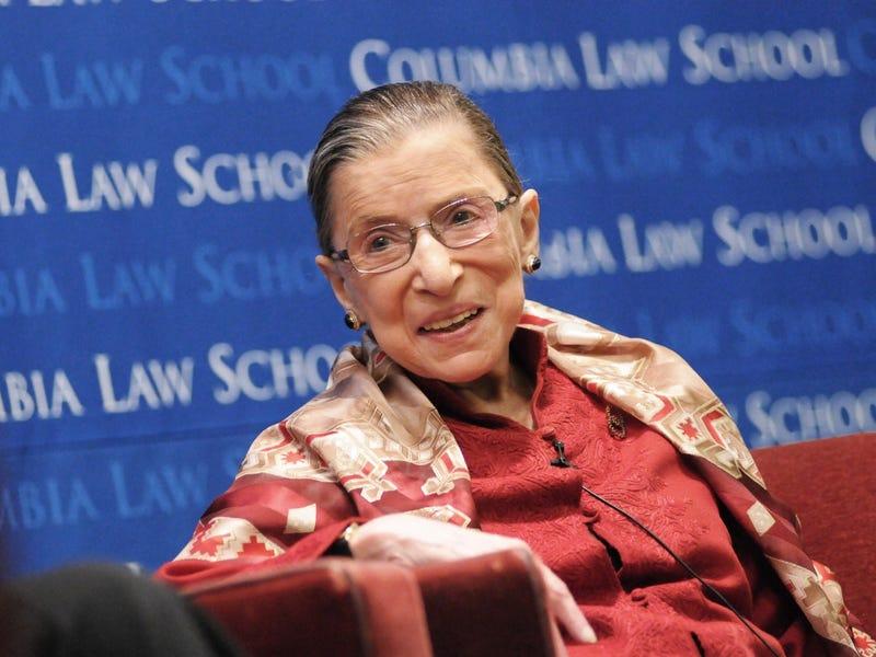 Stop Telling My Pretend Grandma Ruth Bader Ginsburg to Retire