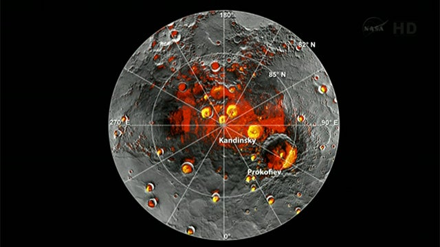 NASA Finds Water and Organic Matter In Mercury
