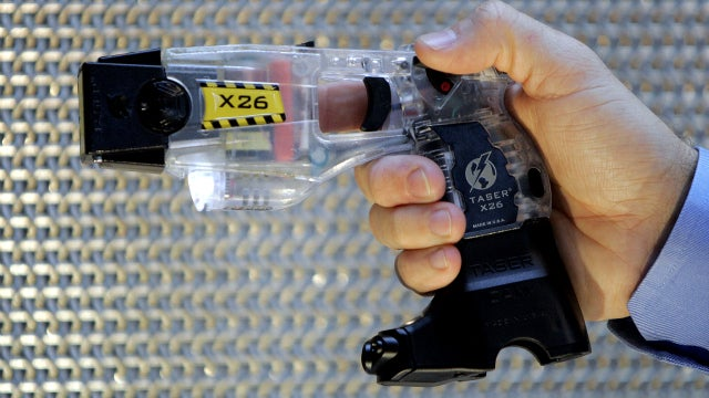 You Can't Just Taser People for Laughs, Cop Learns