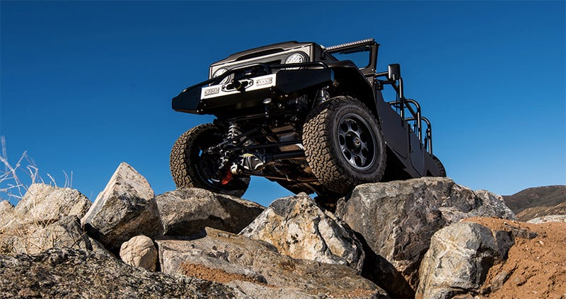 This Is The Only Way To Treat A Museum's Ultimate Off-Road Vehicle