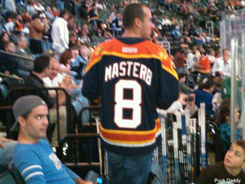 When You Wear A Self-Sexually Suggestive Hockey Sweater, People Make Assumptions
