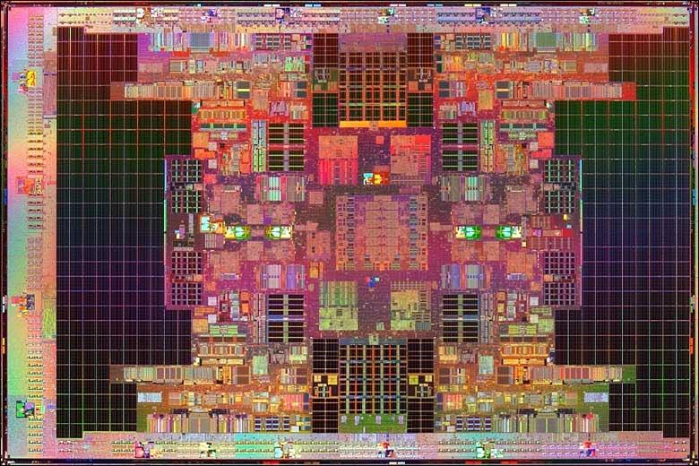 Intel Tukwila Is World's First 2 Billion Transistor Chip, Can Fight Godzilla Blindfolded