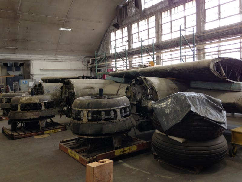 Museum of the US Air Force - Restoration Facility Photo Dump