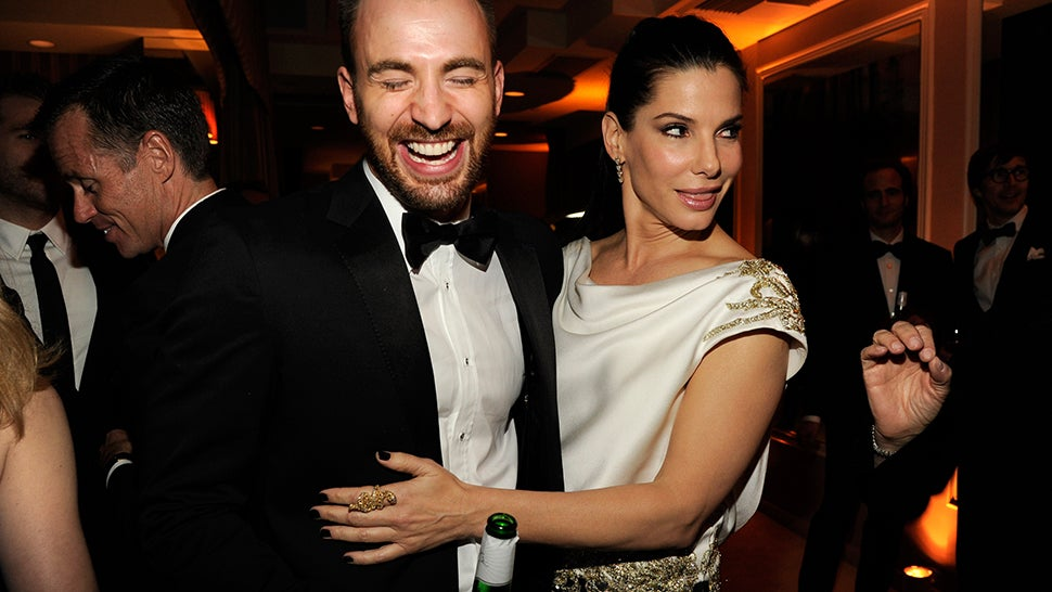 Sandra Bullock and Chris Evans Are Maybe a Thing Now