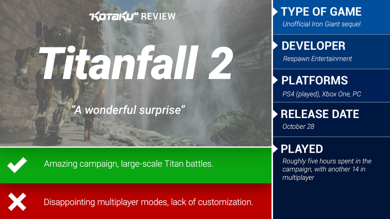 Titanfall 2: The Kotaku Review