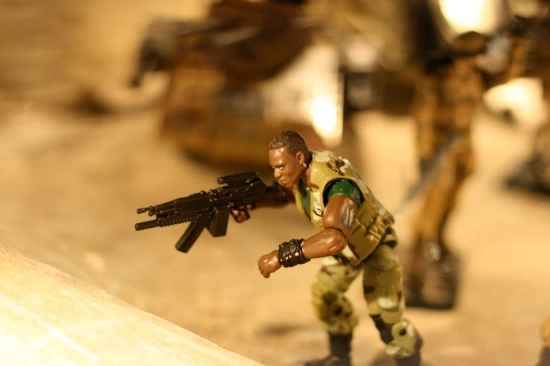 GI Joe Movie Battles, Destuction And Torture Renacted In Toy Form