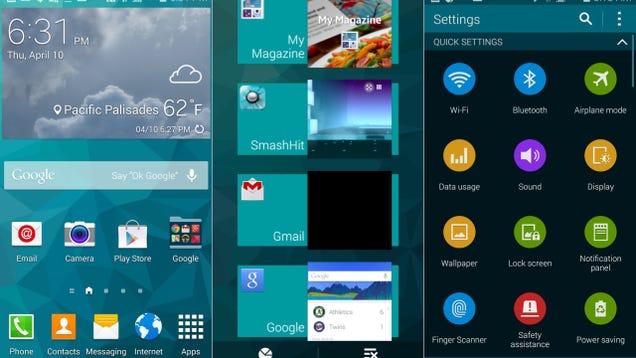 El Galaxy S6 solo llevará instaladas tres aplicaciones de Sa