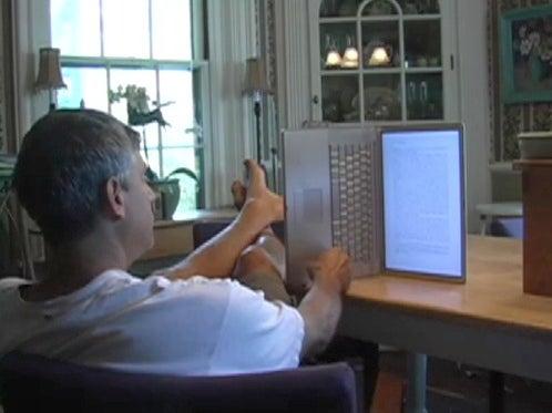 DIY PowerBook e-Book Reader