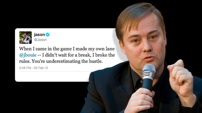 Racism Doesn't Exist in Tech Because White Tech Blog Millionaire Jason Calacanis Has Never Seen It