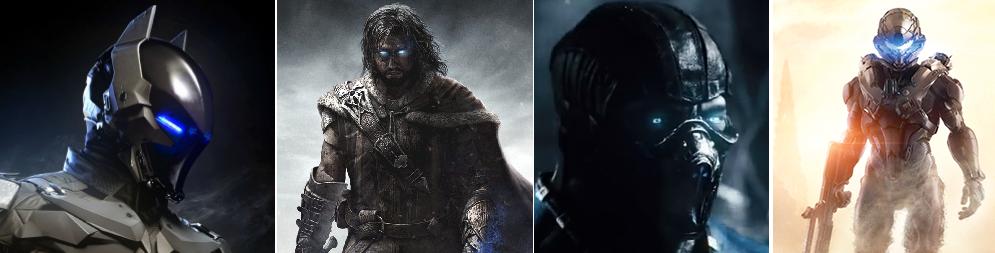 Being a Next-Gen Video Game Hero Means Having Glowing Blue Eyes