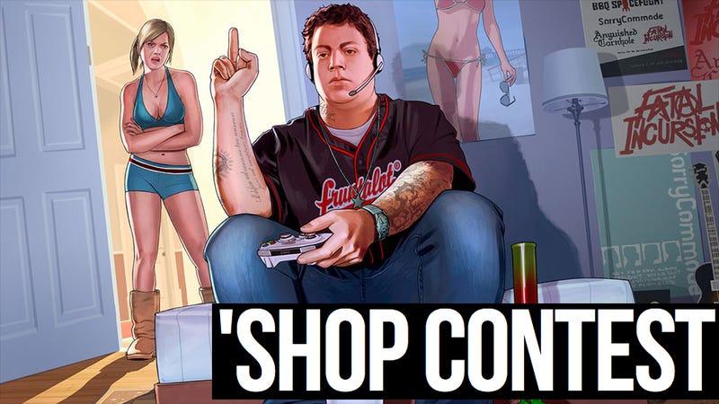 Kotaku 'Shop Contest: Grand Theft A-Hole