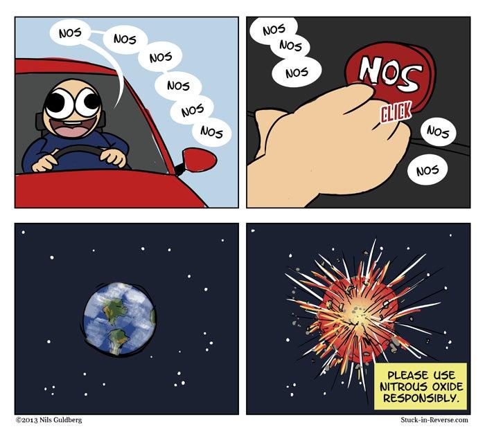 STUCK IN REVERSE - AUTOMOTIVE COMICS (Part 2)