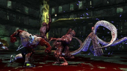 We're Up To Our Elbows In Splatterhouse Screens, Blood