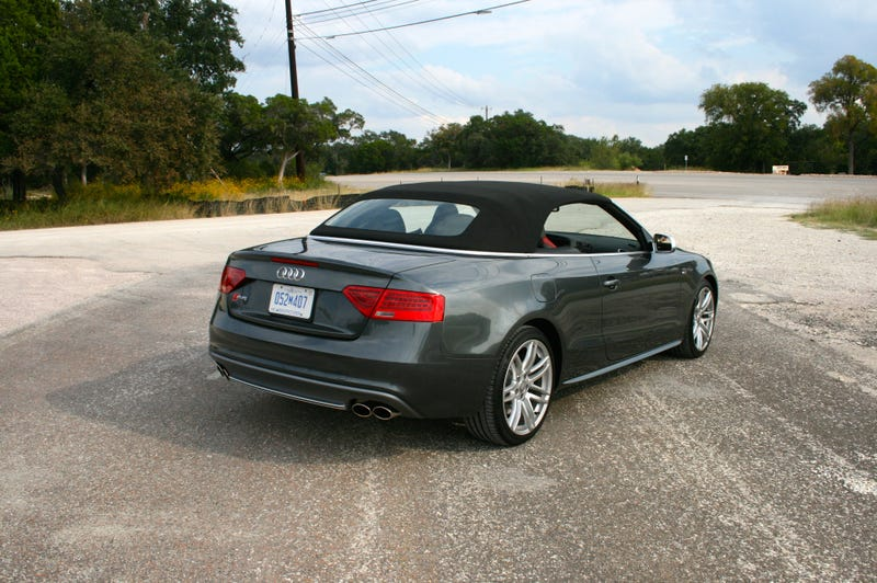 Coupe s5 look better maybe but no one can ever say the convertible