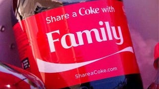 The new Coke marketing campaign: not for everybody.