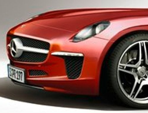 REPORT: Mercedes To Build 911-Fighting Baby SLS AMG