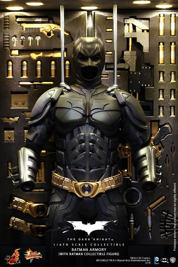 Batman Figures Look Like Real, Tiny Batman Actors