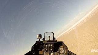 Video: Unmanned F-16 jet dodges a live missile for the first time