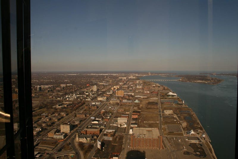 GM's Renaissance Center HQ: View From The Top