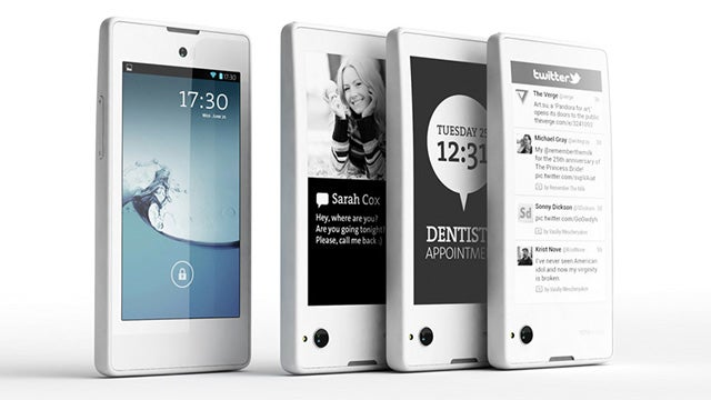 This Dual-Screen E-Ink Phone Is Now Real (But You Can't Have It, Yet)