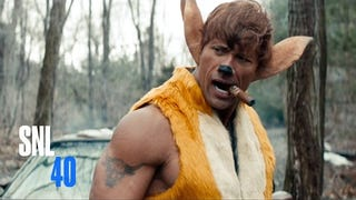 The Rock Makes A Kick-Ass Bambi In <i>SNL</i>'s Live-Action Disney Parody