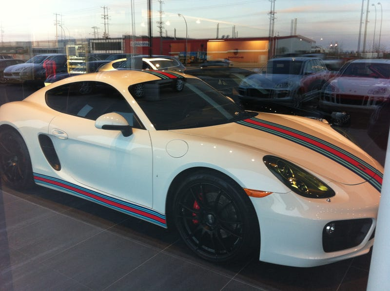 Went to Porsche of Edmonton & Found This. REPOST:if you missed it