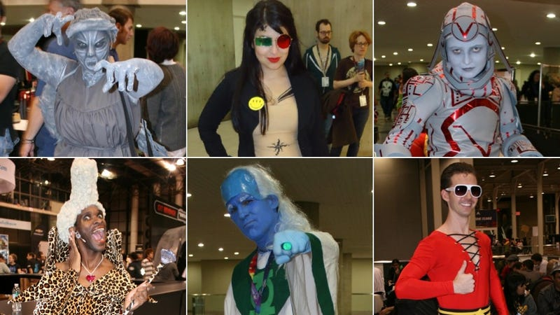 The Greatest, Strangest and most Obscure Cosplay at New York Comic Con