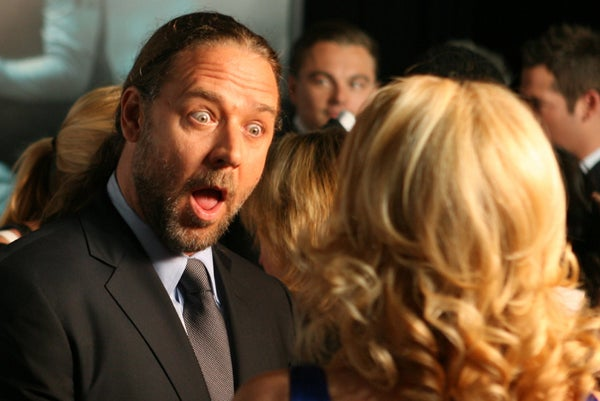 Russell Crowe Is Shocked To Hear The News!